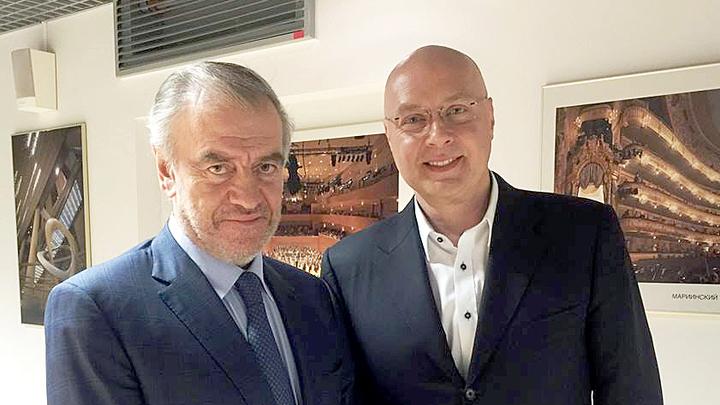 Валерий Гергиев и Юлиан Макаров