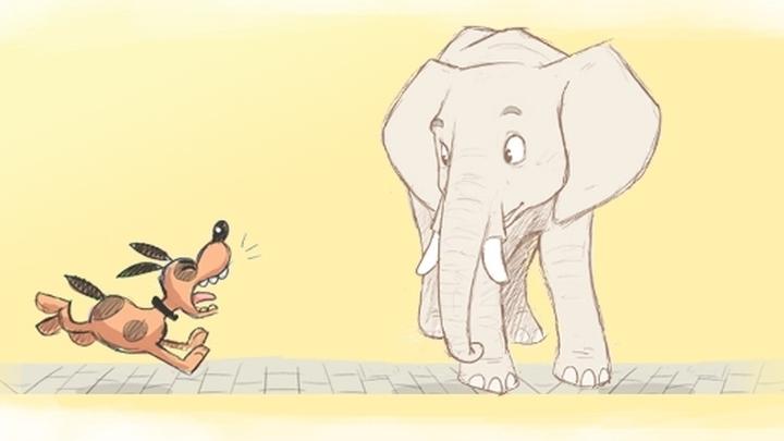 крыланов картинки басен крылова слон и моська источником вдохновения