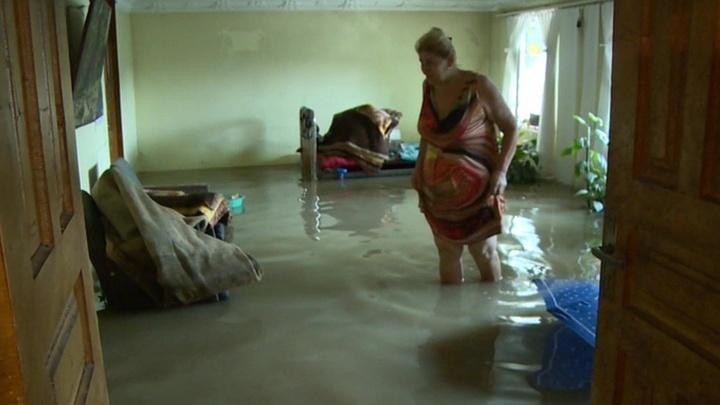 Сильные дожди стали причиной наводнений в Абхазии