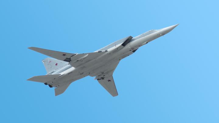 Бомбардировщики Ту-22М3 совершили полёт над Средиземным морем