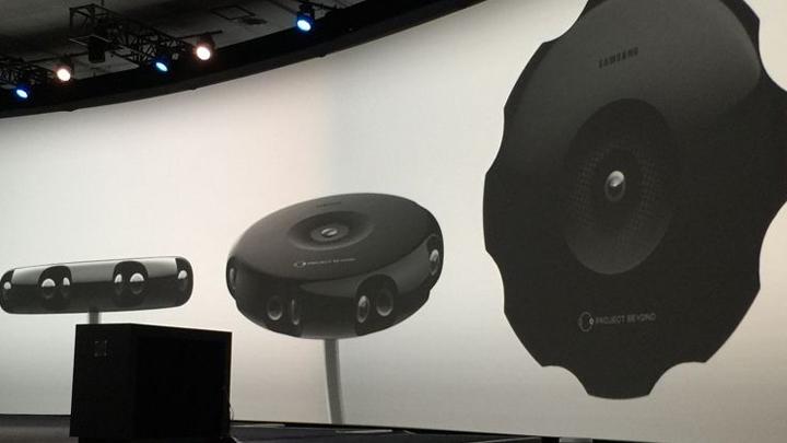 Слух: Samsung готовит панорамную VR-камеру Gear 360