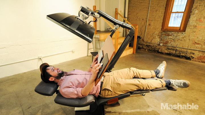 Altwork Station: лежачее рабочее место за $5900