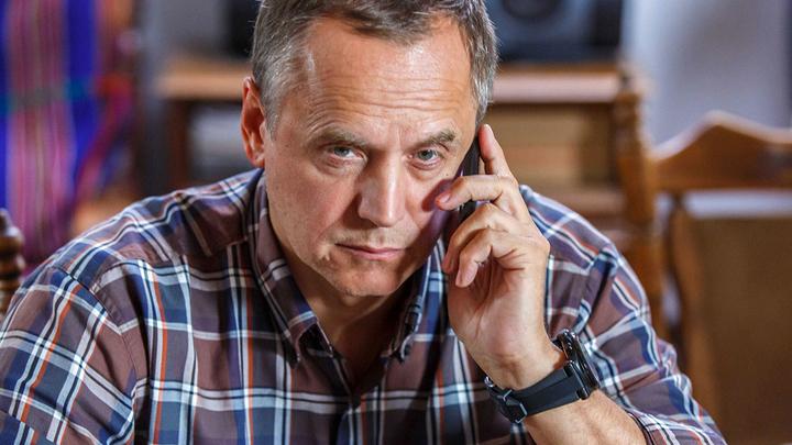 """Андрей Соколов. Кадр из сериала """"Я больше не боюсь"""""""