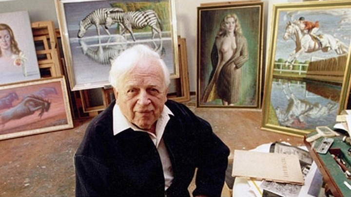 Владимир Третчиков - всемирно известный художник