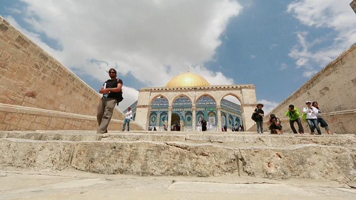 """Кадр из документального фильма """"Сирия. Здесь был рай"""". Дамаск"""