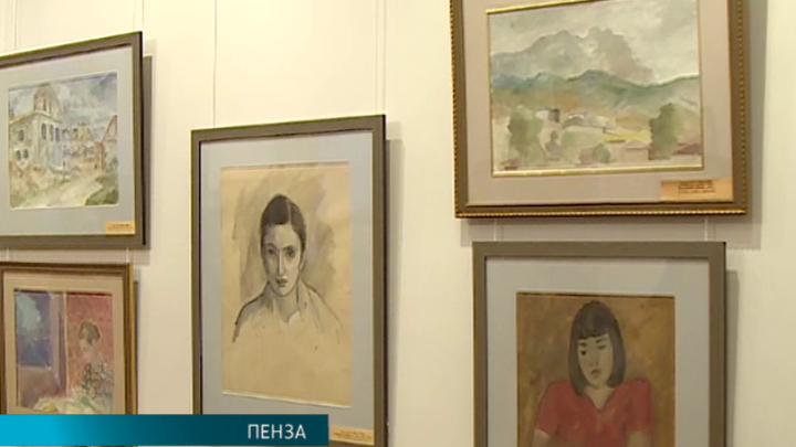 В Пензенской картинной галерее открылась выставка работ Роберта Фалька