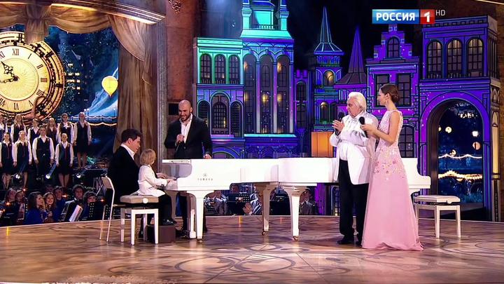Финал. Денис Мацуев (рояль), Вахтанг (битбокс, рэп), Елисей Мысин (рояль).