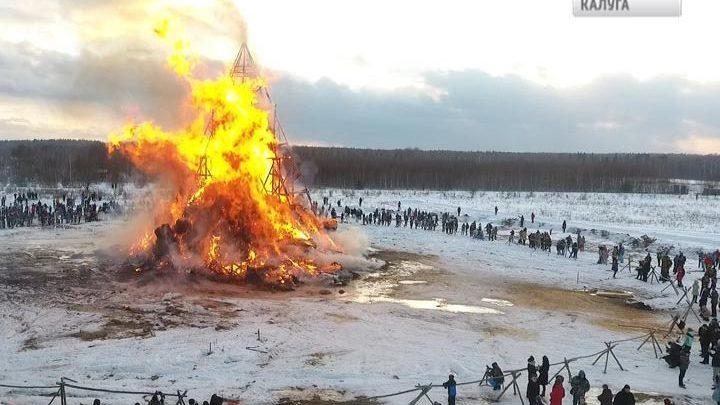 Замок корона-людоеда сожгут в Никола-Ленивце