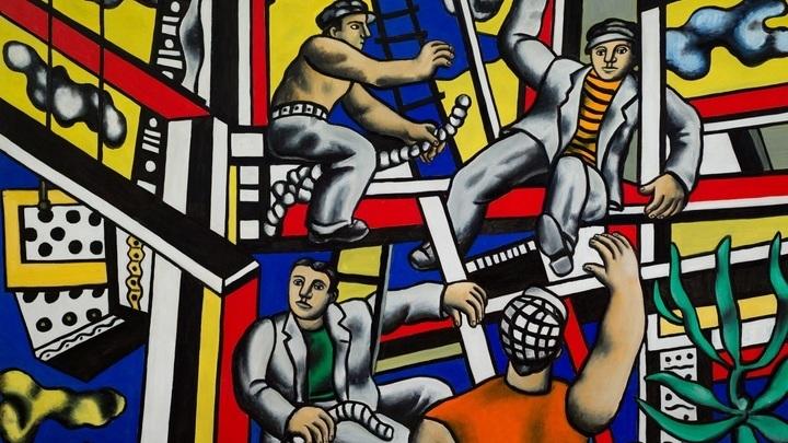 """Фернан Леже. """"Строители"""". 1951"""