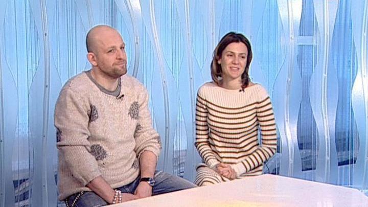 """На """"Худсовете"""". Актеры Федор Лавров и Наташа Швец. Премьера спектакля """"Скамейка"""""""