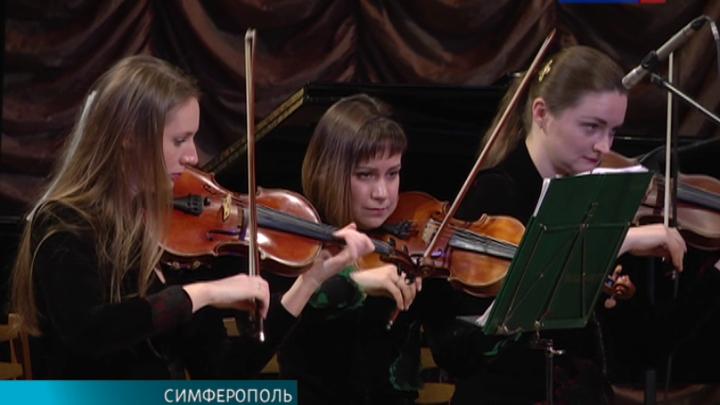 """Вивальди-оркестр выступил на фестивале """"Крымская весна"""""""