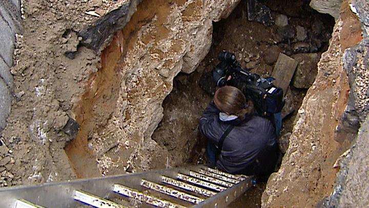 Археологи сделали сенсационную находку у Китайгородской стены