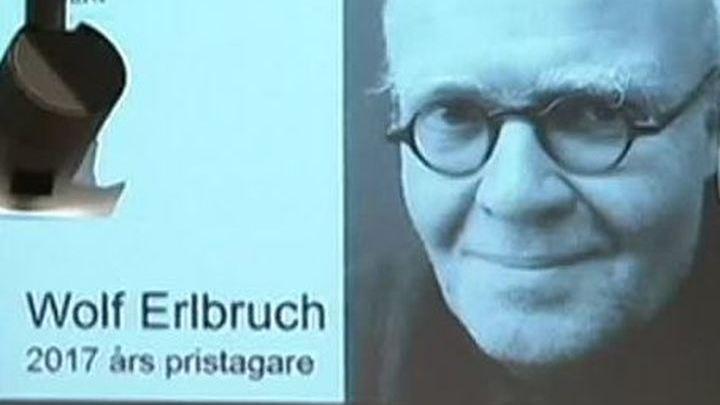 Писателю и иллюстратору Вольфу Эрльбруху вручили Премию памяти Астрид Линдгрен