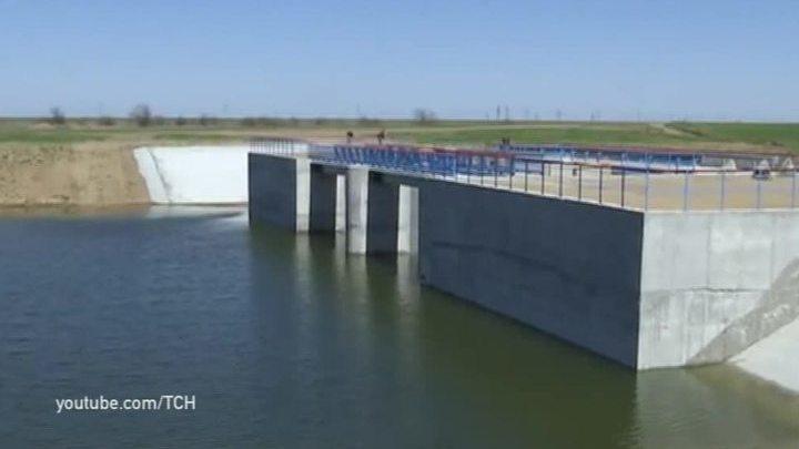 В Крыму не станут использовать воду, просочившуюся сквозь дамбу с территории Украины