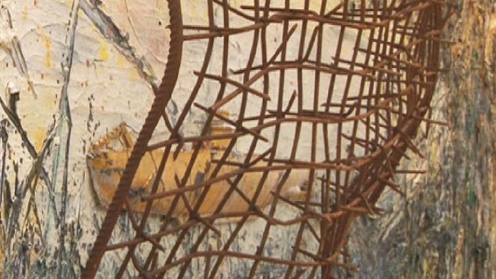 """В Эрмитаже продолжается выставка """"Ансельм Кифер - Велимиру Хлебникову"""""""