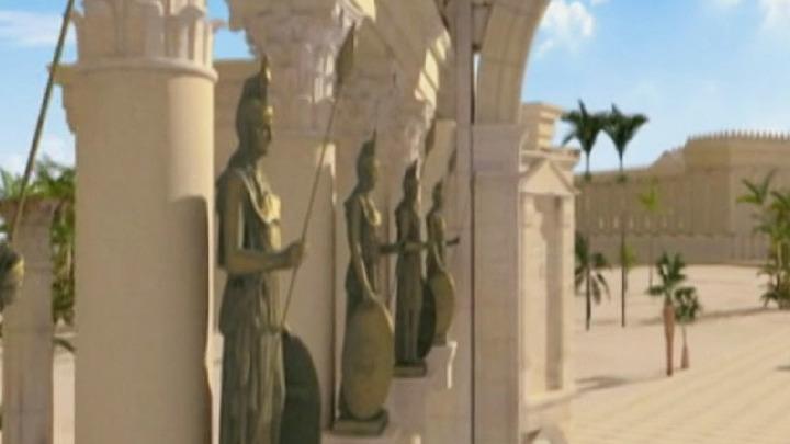 Российские ученые создают трехмерные модели зданий древней Пальмиры