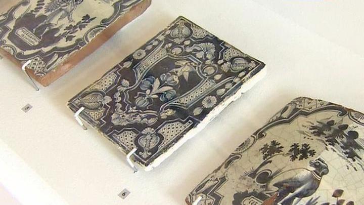 В Музее имени Андрея Рублева представлены изразцы XVI-XVIII веков