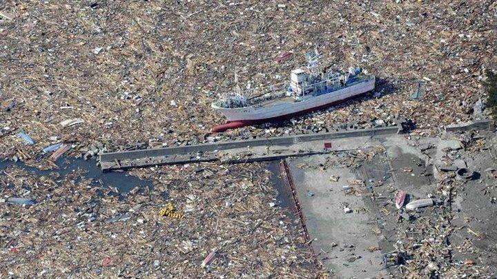 мусорное пятно в тихом океане фото