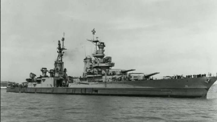 В Тихом океане обнаружены обломки крейсера, затопленного японцами в конце Второй мировой войны