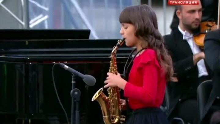 Выступление Софьи Тюриной на гала-концерте в честь открытия нового сезона канала