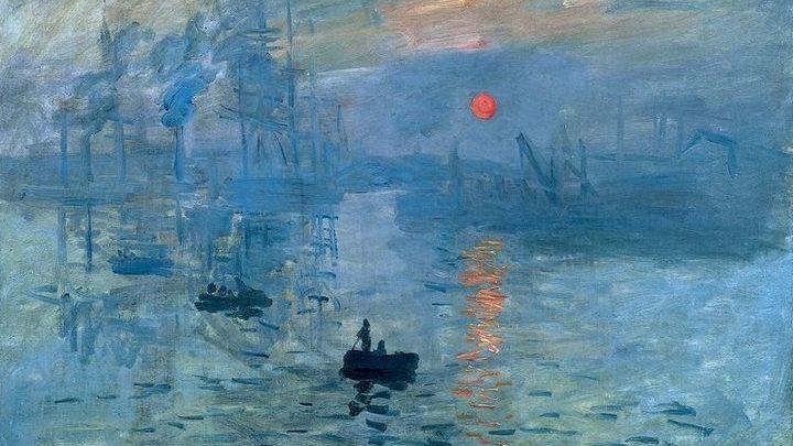 Картинки по запросу Клод Моне «Впечатление. Восходящее солнце»