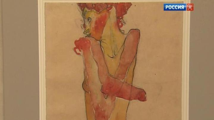 ВГМИИ открылась выставка рисунков Климта иШиле свозрастным ограничением 18+