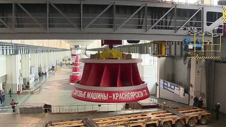 Красноярская ГЭС сегодня увеличит сбросы воды