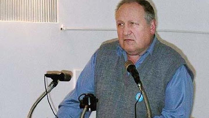 Вячеслав Васильевич Мишин, председатель комиссии по геральдике, заслуженный геральдист Всероссийского геральдического общества