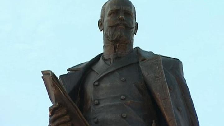 ВЧелябинске открыли монумент российскому реформатору Петру Столыпину