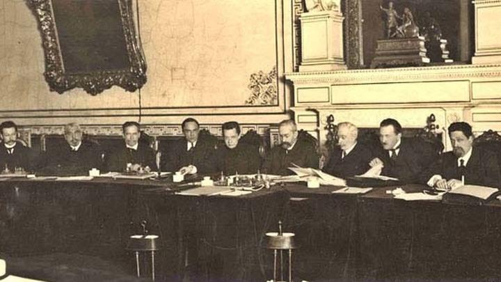 Заседание Временного правительства; весна - лето 1917