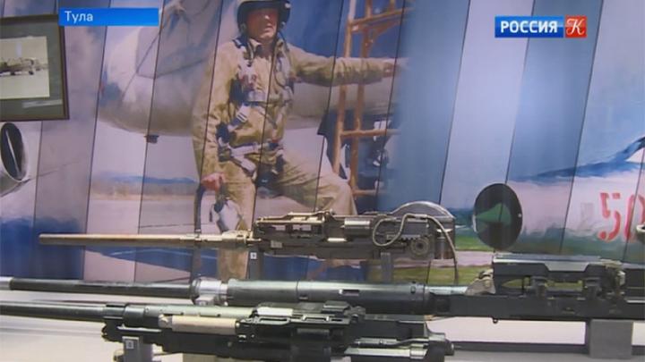 Дюмин иМединский открыли постоянную экспозицию вТульском музее оружия