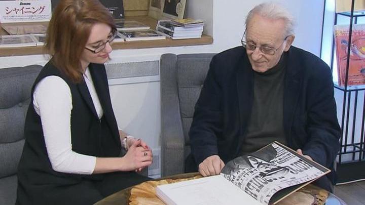 "Наум Клейман презентовал новую книгу ""Эйзенштейн на бумаге"""