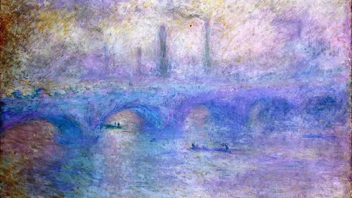 """""""Эффект тумана"""". Картину Моне нашли с помощью поисковой системы Google"""