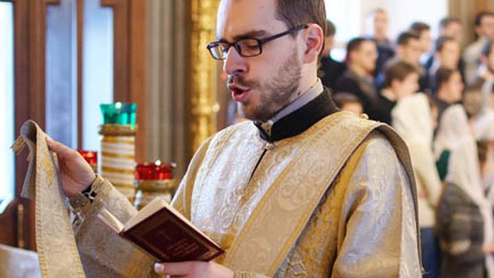 Отец Максим Юдаков, наставник Свято-Тихоновского духовного института.