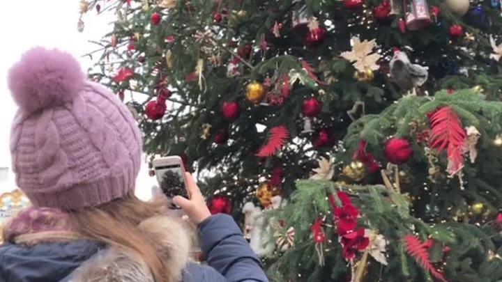 В Москве перед Новым годом растаял весь снег