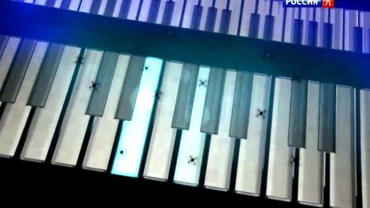 Intel научила дроны играть нафортепиано