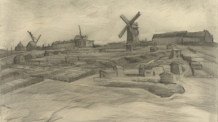ВГолландии обнаружили неизвестные рисунки Ван Гога