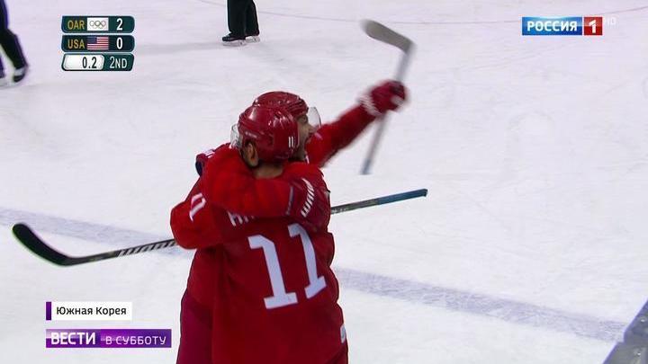 Победа сборной России по хоккею: стрельба дуплетами и исторические шайбы