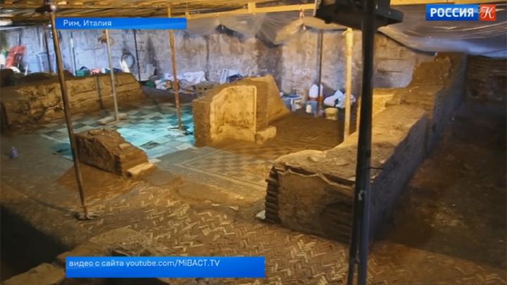 Итальянские архитекторы обнаружили под землей виллу II века