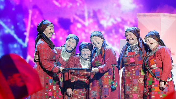"""Евровидение-2012. """"Бурановские бабушки"""". Первый полуфинал/Eurovision 2012. """"Buranovskiye Babushki"""". Semifinal 1"""