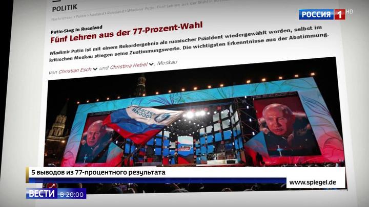 Мировая пресса о выборах: это триумф Путина