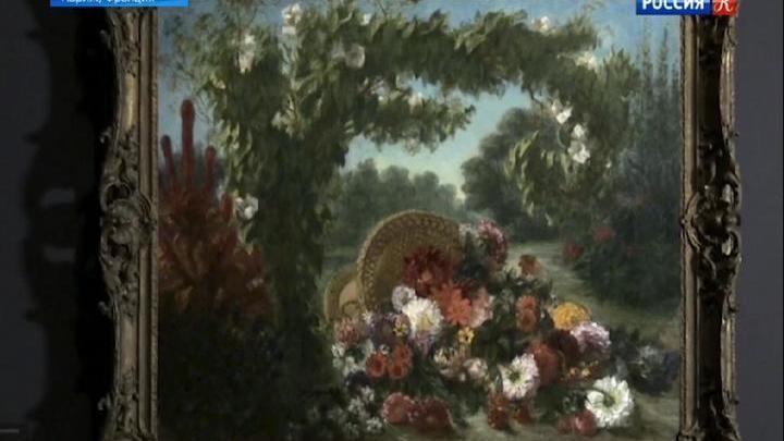 В Лувре представлена масштабная ретроспектива работ Эжена Делакруа