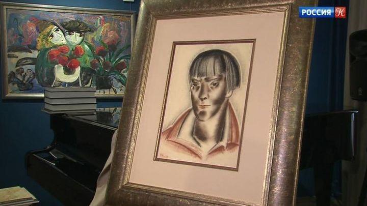 """Единственный прижизненный портрет Марины Цветаевой """"вернулся домой"""""""