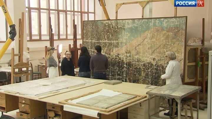 Научно-реставрационному центру имени Грабаря 100 лет