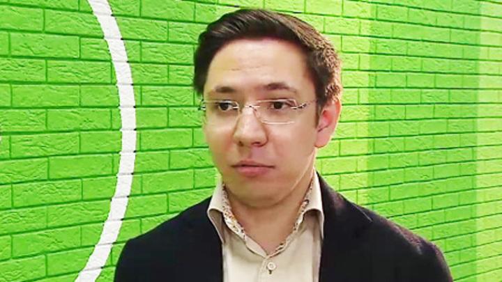 """Спортивный обозреватель """"Радио России"""" Виталий Павлов."""