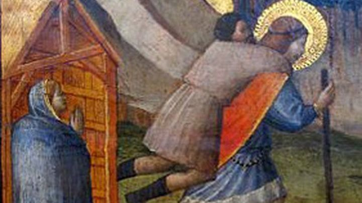Икона. Святой Юлиан Странноприимец