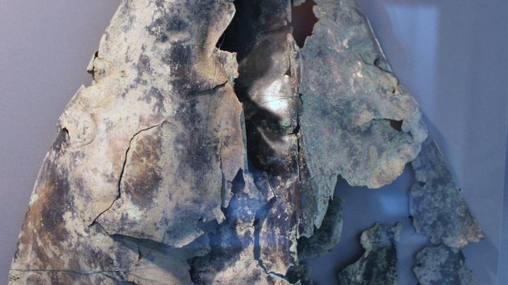Древний римский шлем, находка 2017 года