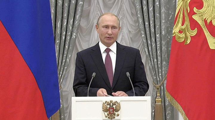 Владимир Путин вручит олимпийцам государственные награды