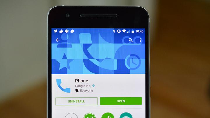 """Приложение """"Телефон"""" в Android начало фильтровать спам-звонки"""
