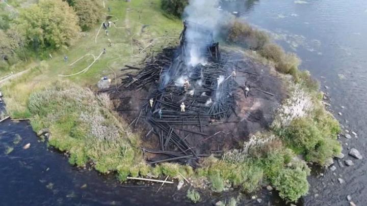 По факту пожара в Успенской церкви возбуждено уголовное дело